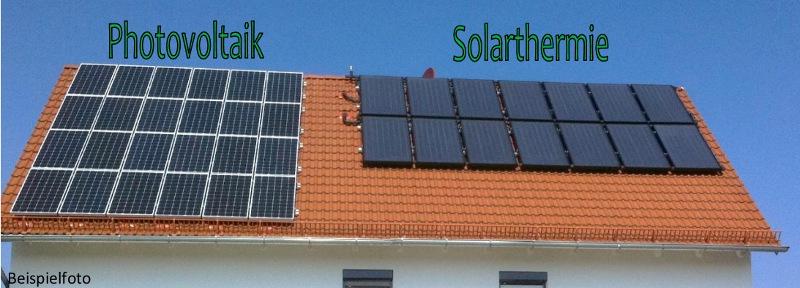 PhotovoltaikSolarthermie