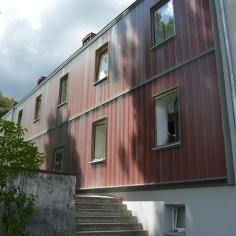 Haus mit Fertigfassade 2